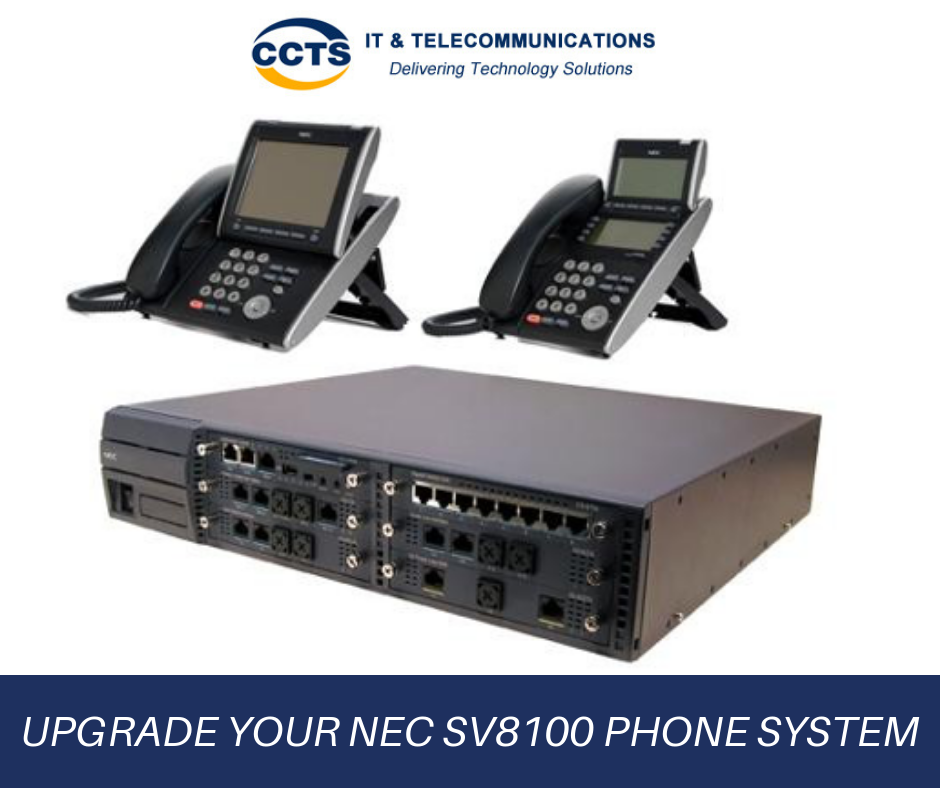 Upgrade your NEC SV8100 phone system, more features less cost